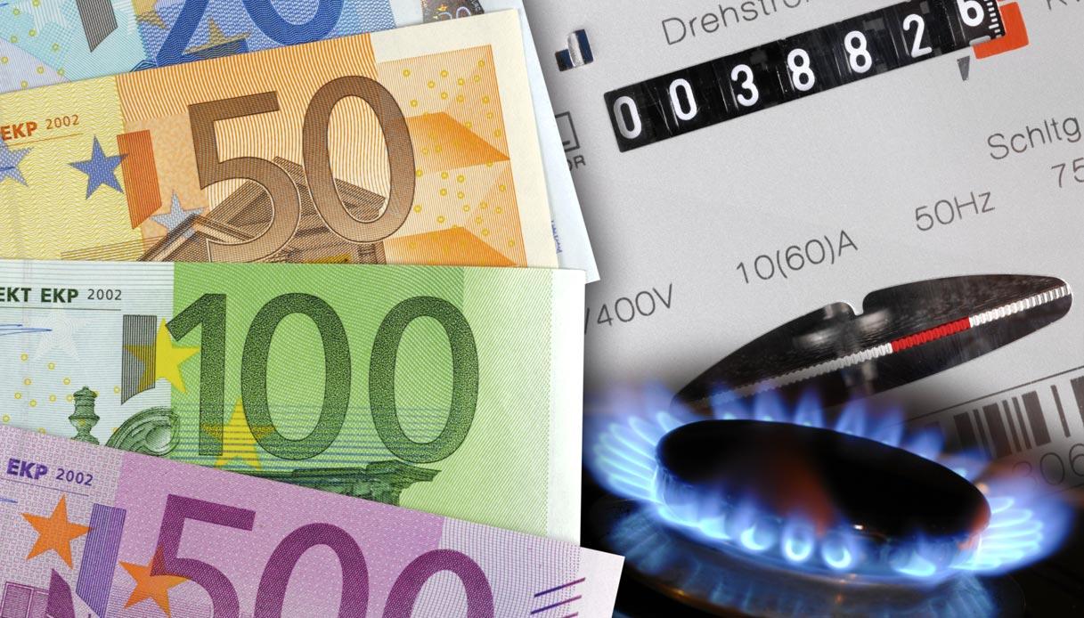 aumento dei prezzi luce e gas